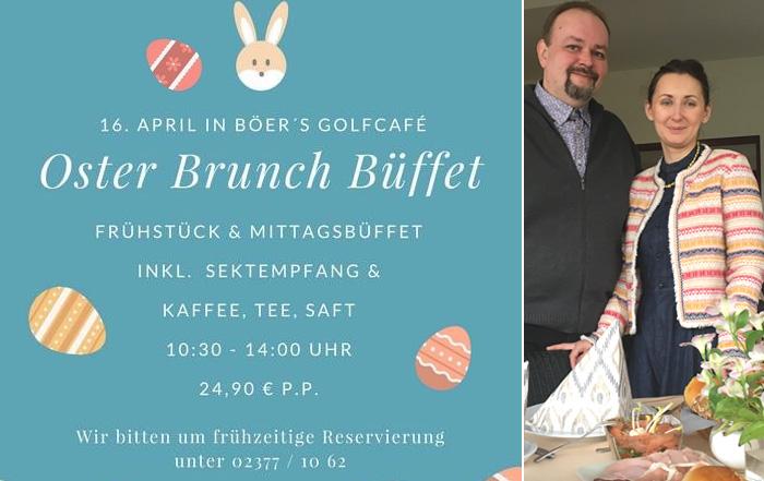 Golfcafé Böers Osterbrunch