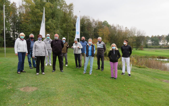 Abgolfen 2020 beim Golfclub Werl